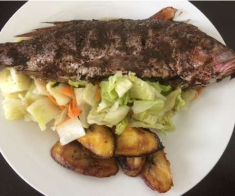 Jamaican jerk fish recipe