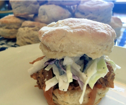 Buttery Biscuit recipe | pulled pork sliders recipe