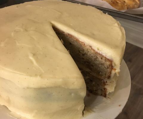 Darius Cook's Vanilla Cake